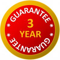 3 Year Guarantee